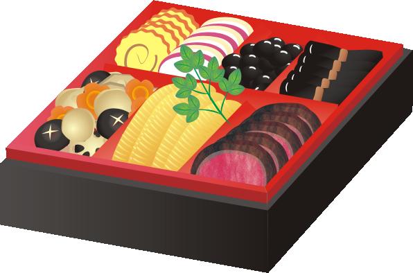 oseti11 おせち料理11 数の子と ... : プリント 素材 : プリント